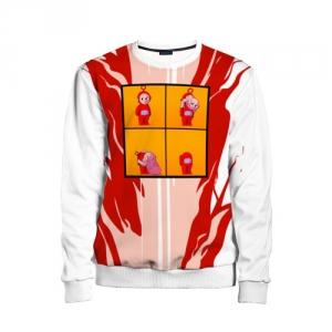 Merch Kids Sweatshirt Among Us Teletubbie Imposter