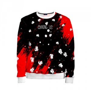 - People 11 Child Sweatshirt Front White 500 189