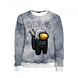 Collectibles Kids Sweatshirt Among Us X The Witcher