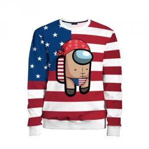 Collectibles Kids Sweatshirt Among Us American Boy Ricardo Milos