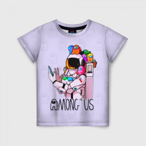 Merchandise - Spaceman Kids T-Shirt Among Us Crewmates
