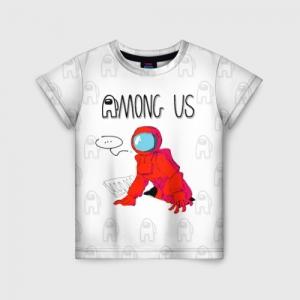 Merchandise - Red Crewmate Kids T-Shirt Among Us
