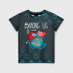 Merchandise - Among Us Kids T-Shirt Among Us Guess Who Board Game