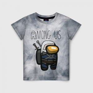 Collectibles Kids T-Shirt Among Us X The Witcher