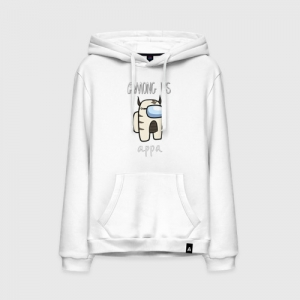 - People 11 Hoodie Front White 500 76