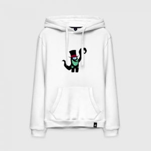 - People 11 Hoodie Front White 500 79