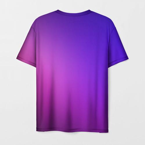 Collectibles Gradient Men'S T-Shirt Among Us Purple
