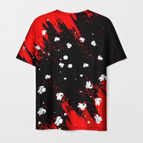 Merch Men'S T-Shirt Among Us Blood Black