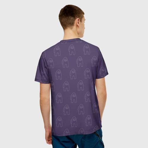 Merchandise Men'S T-Shirt Among Us Mates Among Us Purple