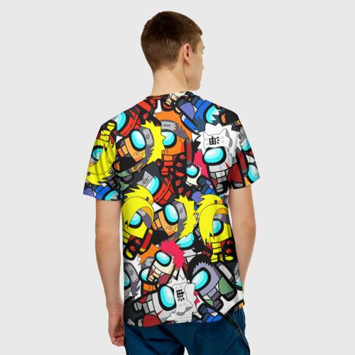 Collectibles Men'S T-Shirt Among Us X Naruto Crossover