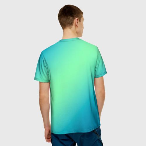 Merchandise Men'S T-Shirt Among Us Death Behind Cyan