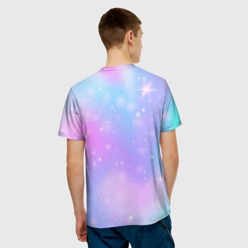 Merch Among Us Men'S T-Shirt Rainbow Unicorn