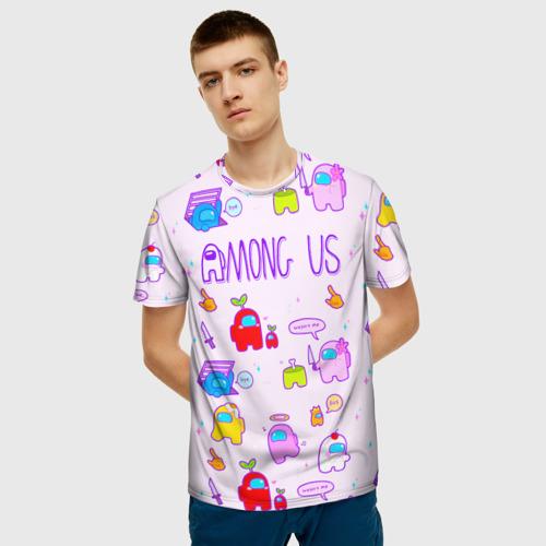 Merchandise Pattern Men'S T-Shirt Among Us Crewmates