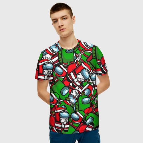 Merchandise Men'S T-Shirt New Year Eve'S Among Us