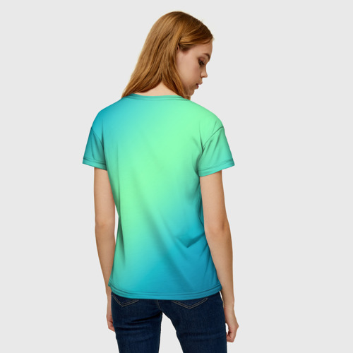 Collectibles Women'S T-Shirt Among Us Death Behind Cyan