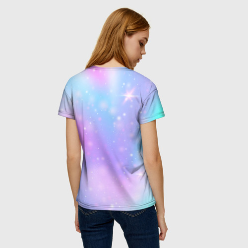 Merchandise Among Us Women'S T-Shirt Rainbow Unicorn
