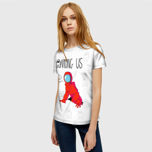 Collectibles Red Crewmate Women'S T-Shirt Among Us