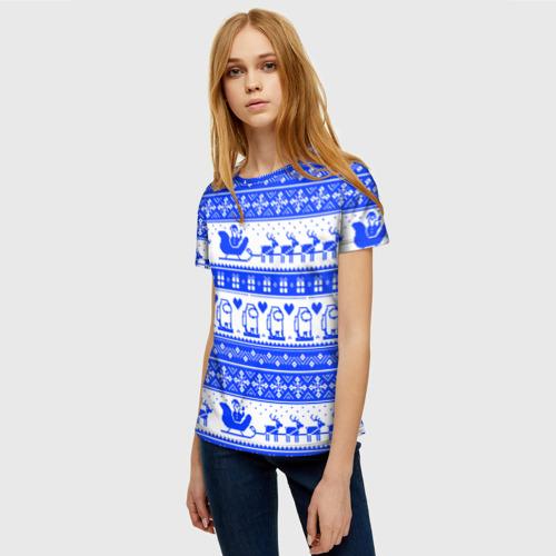 Merchandise Women'S T-Shirt Among Us Christmas Pattern