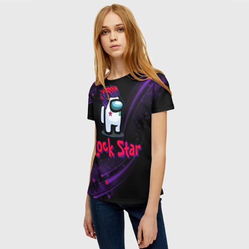 Collectibles Among Us Rock Star Women'S T-Shirt