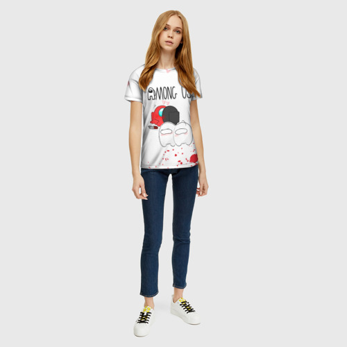 Merchandise Among Us Women'S T-Shirt Love Killed