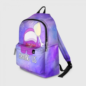 Merch Backpack Among Us Imposter Purple