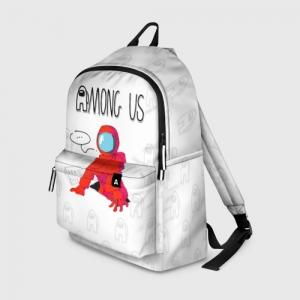 Merch Red Crewmate Backpack Among Us