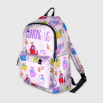 - People 1 Backpack Full Front White 500 198