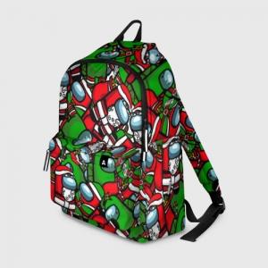 Merch Backpack Santa Imposter Among Us