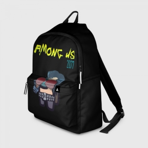 Merch Backpack Among Us X Cyberpunk 2077