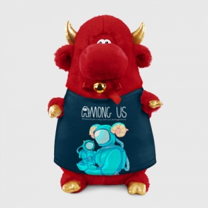 - People 1 Bull Gift 3D Front Red 500 133