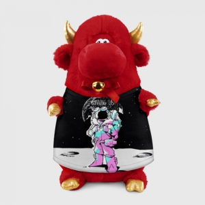 - People 1 Bull Gift 3D Front Red 500 134