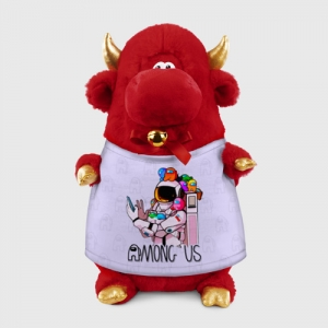 - People 1 Bull Gift 3D Front Red 500 135
