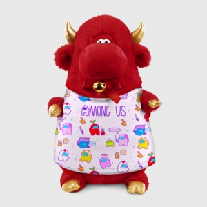 - People 1 Bull Gift 3D Front Red 500 138
