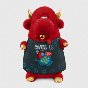 - People 1 Bull Gift 3D Front Red 500 139