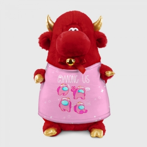 - People 1 Bull Gift 3D Front Red 500 141