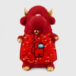 - People 1 Bull Gift 3D Front Red 500 143