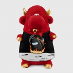 - People 1 Bull Gift 3D Front Red 500 145