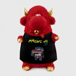 - People 1 Bull Gift 3D Front Red 500 146