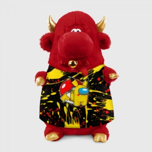 - People 1 Bull Gift 3D Front Red 500 147