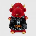 - People 1 Bull Gift 3D Front Red 500 149