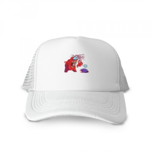 - People 1 Cap Trucker Front White 500 56