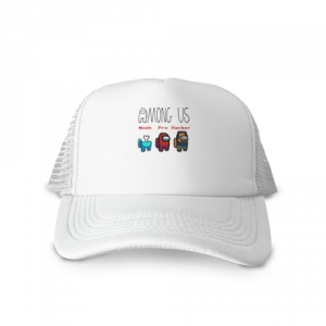 - People 1 Cap Trucker Front White 500 62