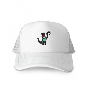 - People 1 Cap Trucker Front White 500 65