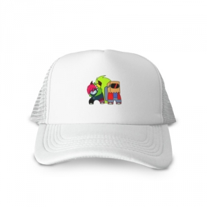 - People 1 Cap Trucker Front White 500 66