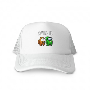 - People 1 Cap Trucker Front White 500 68