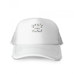 - People 1 Cap Trucker Front White 500 70