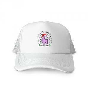 Merchandise Cotton Trucker Cap Santa Seems Sus Among Us