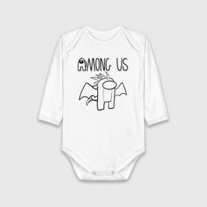 Merchandise Paint Print Among Us Child Bodywear Cotton
