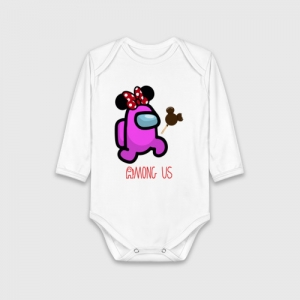 - People 1 Child Bodysuit Front White 500 54