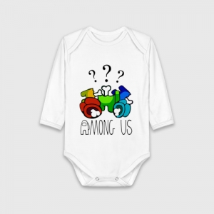 - People 1 Child Bodysuit Front White 500 59